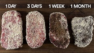 I used a Spe¢ial JAPANESE FUNGUS to dry-age steaks FASTER!