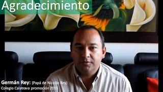 PADRE DE FAMILIA NOS FELICITA //  COLEGIO CALATRAVA