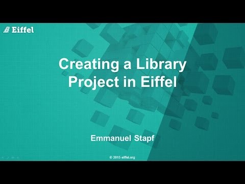 Creating a Library Project in Eiffel