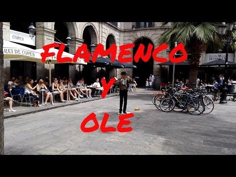 FLAMENCO EN LAS CALLES FLAMENCO EN BARCELONA HD
