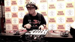 DJ Koco Live @ Record Store Day 2014, Tower Record Shibuya, Tokyo Pt.2
