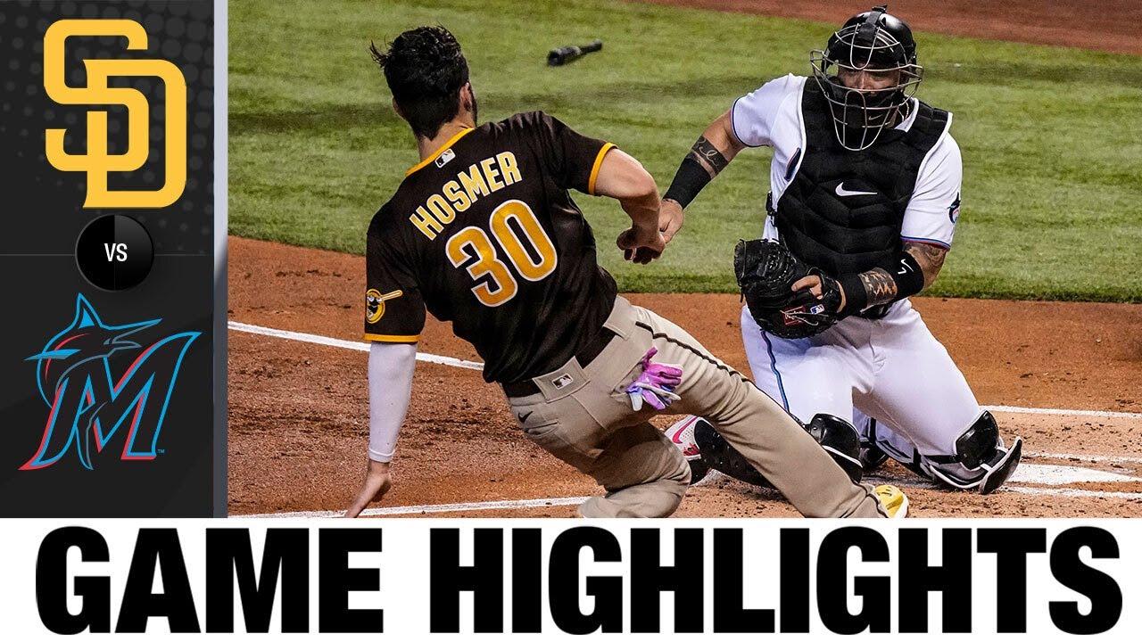 Download Padres vs. Marlins Game Highlights (7/25/21) | MLB Highlights