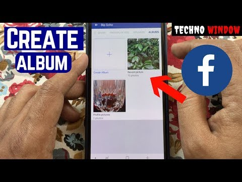 How to post an photo album on facebook