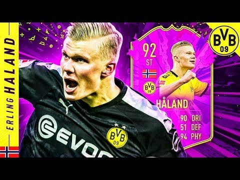 ABSOLUTE CHEAT CODE!! 92 FUTURE STARS HALAND REVIEW!! FIFA 20 Ultimate Team