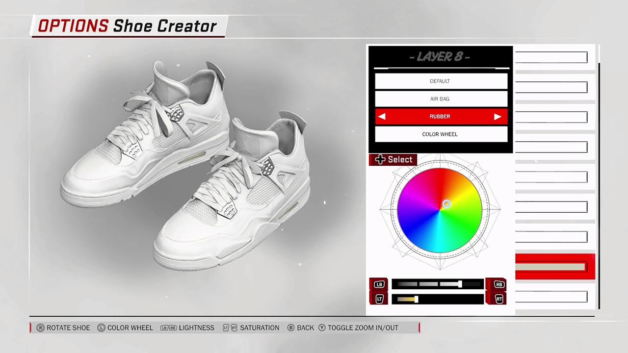 5d1b53b817c2 NBA 2K18 Shoe Creator - Air Jordan 4  Pure Money