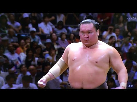"Hakuho Shō ""The Best Sumo of All Time"" HD Yokozuna Highlights"