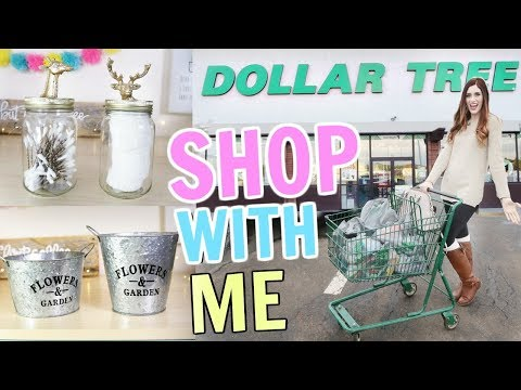 What's New At The Dollar Tree for Spring?  SHOP WITH ME