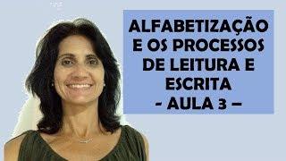 ALFABETIZAÇÃO E OS PROCESSOS DE LEITURA E ESCRITA  -  AULA 3