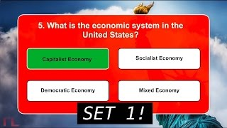 US Citizenship/Naturalization Practice Quiz (Set 1- Most Asked Questions, 2017)