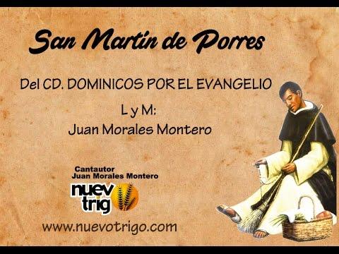 SAN MARTIN DE PORRES.Con acordes.-  Juan Morales Montero