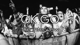 OK GO Moscow interview 2015