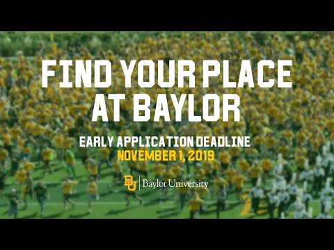 Find Your Place At Baylor