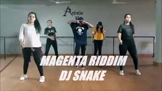 Dj Snake - Magenta Riddim | Dance Choreography | Ashwin Yadav