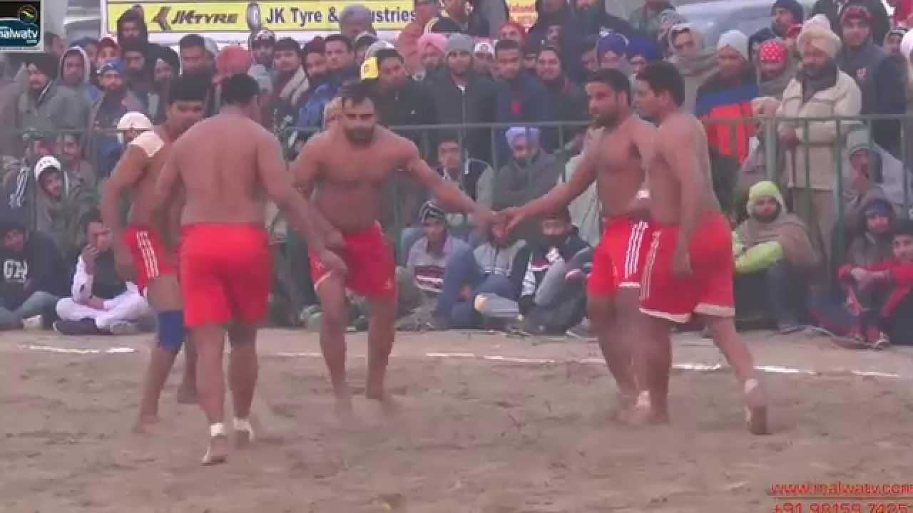 PANWAN (Dasuya) KABADDI CUP - 2014 || Academies Semi - Final & Final  Matches || HD || Part 2nd.
