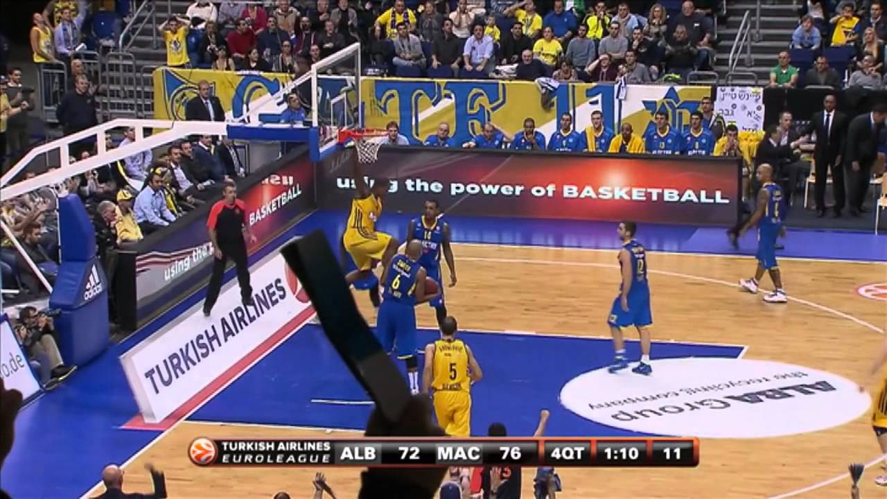 Play of the Game: Shaffartzik to Thompson, Alba Berlin