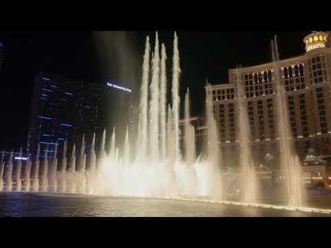"Bellagio Fountains - ""Believe"" (Night)"