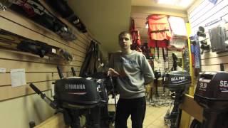 видео 2 или 4 тактные лодочные моторы выбрать,