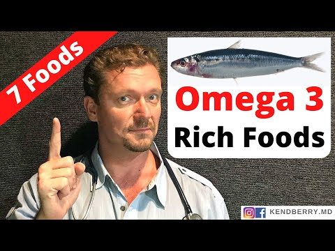 Omega-3 Fatty Acids (7 Great Sources...) - 2020