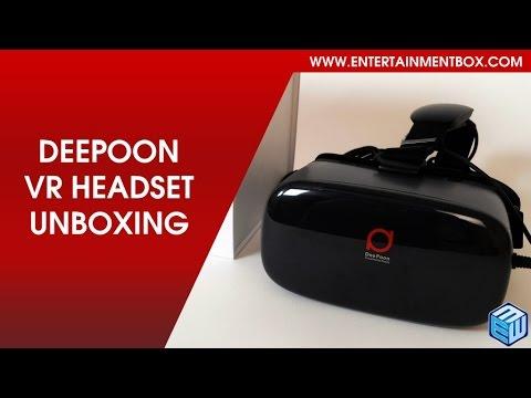 NEW Deepoon E2 Virtual reality Glasses/ headset, Oculus rift, HTC Vive alternative VR headset