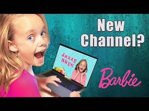 New Channel Announcement?  Does Jazzy Get Her Own Channel? Vlog Advice From Barbie!