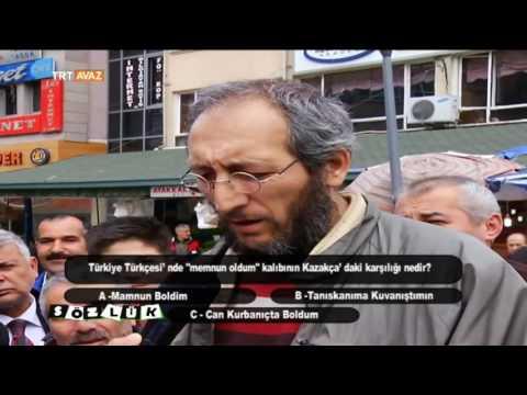 Türkmen Türkçesi'nde Memnun Oldum Kalıbının Kazakça'daki Karşılğı Nedir? - Sözlük - TRT Avaz