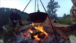 видео Сплав по реке Юрюзань