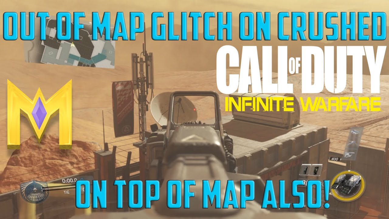 Top page gt gt infinite - Cod Iw Glitches New Crushed Out Of Map On Top Of Building Infinite Warfare Glitches Youtube