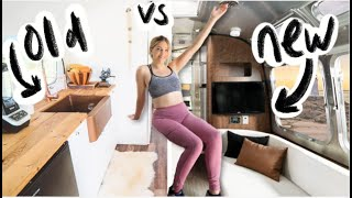 I Stayed In OLD vs NEW Airstreams - Which Is Better?