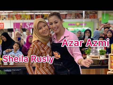 Azar Azmi dan Sheila Rusly Ketuk Ketuk Ramadan 2019