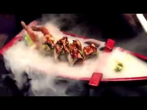 Geish sushi bar -fire sushi