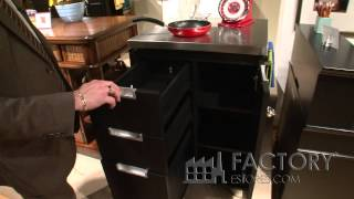 Home Styles Stainless Top Kitchen Cart - Factoryestores.com