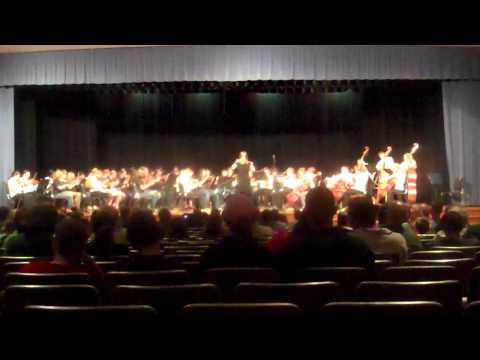march2011 New Century and Crains Creek Middle Schools comined orchestras