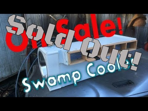 DIY Homemade A/C! Mailbox Swamp Cooler By Fabricator Chris Bissett for Volkswagen on sale!