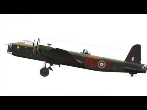 British bombers of the Second World War, Profile Artwork