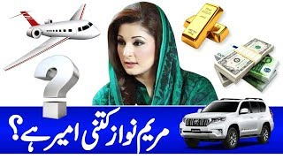 How Much Rich is Maryam Nawaz? | Maryam Nawaz Assets,Number,Bank Balance,Biography,Age,Daughter