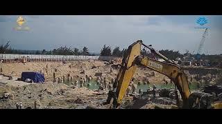 Tổng quan Thi công và tiến độ SUNBAY PARK Phan Rang tháng 10/2019 | Đầu tư BĐS Nghỉ dưỡng  Biển