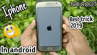 How to install IOS in any samsung phone || Best trick || Tech 74 || Hindi