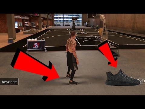 HOW TO MAKE THE BLACK YEEZYS IN NBA2K17! (SHOE CREATOR TUTORIAL)