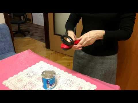 Открывашка. Консервный нож Tupperware как использовать.