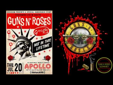 Guns N' Roses Live at Apollo Theater, New York, NY, USA 2017 ( HD Audio Completed )