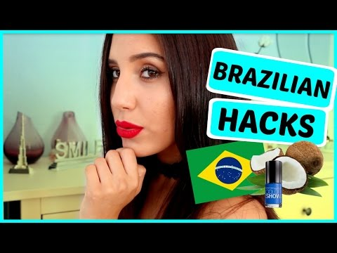 10 BRAZILIAN Beauty HACKS You Have To Know