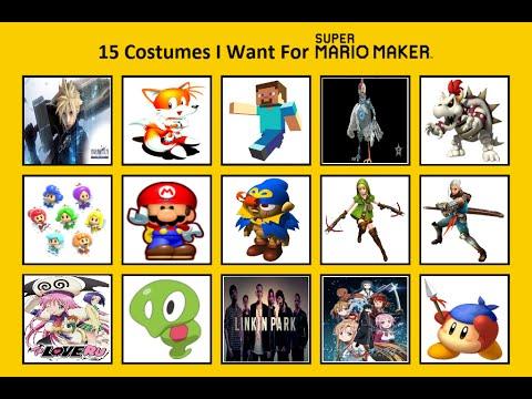 15 Costumes I Want For Super Mario Maker By – Fondos de Pantalla