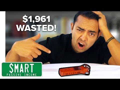 5 Things I Wish I Didn't Buy ($1,961 Gone!)