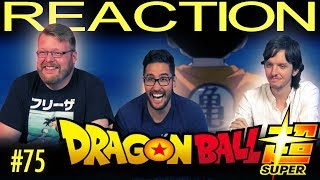 Dragon Ball Super [ENGLISH DUB] REACTION!! Episode 75