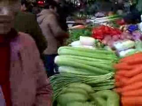 Shanghai vegetable market