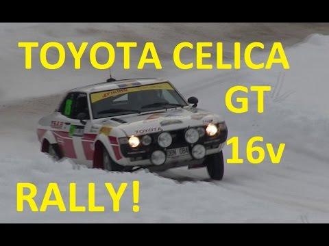 Toyota Celica GT 16v Rally Sweden 2015