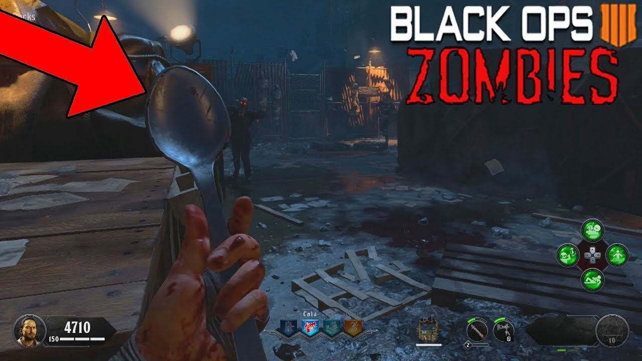 HOW TO GET THE SPOON   Blood of the dead - YouTube