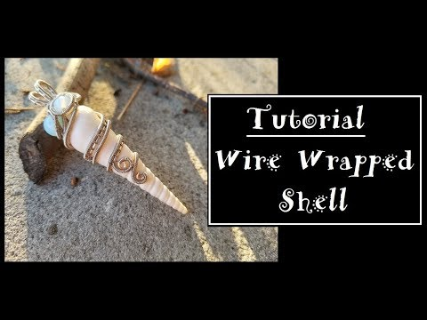 Wire Wrapping Tutorial: Shell Pendant