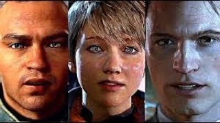 DETROIT BECOME HUMAN NEW GAMEPLAY TRAILER - Characters | Developments 2018