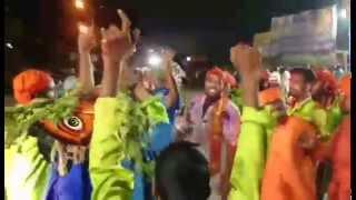 Against to Muslims at jagtial   JAI SRI RAM